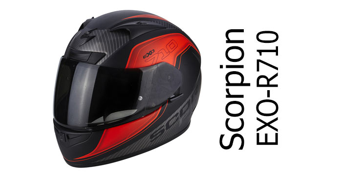 Scorpion Exo R710 motorcycle crash helmet review - Billys Crash Helmets