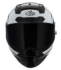 6D-ATS-1-full-face-helmet-in-white-black-front-view