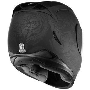Icon-Airmada-scrawl-motorcycle-helmet-rear-view