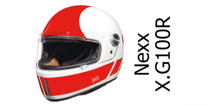 348dcc20 Nexx X.G100R review: a retro full face motorcycle helmet with face shield