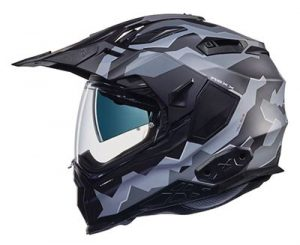 nexx xwild enduro hill end helmet side view