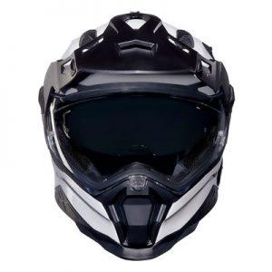 nexx-xwild-enduro-purist-white-helmet-front-view