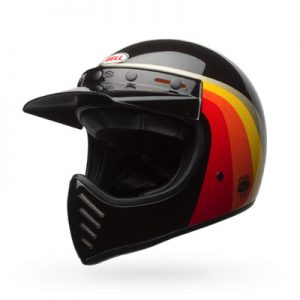 Bell-Moto3-Chemical-Candy-Black-Gold-retro-helmet-front-view