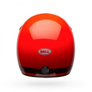 Bell-Moto3-classic-fluo-orange-crash-helmet-rear-view