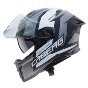 caberg drift evo Speedster motorcycle helmet black anthracite side view