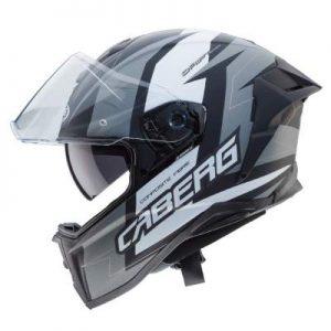 caberg drift evo Speedster motorcycle helmet black anthracite side view