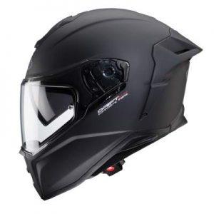 caberg drift evo motorcycle helmet matt black side view
