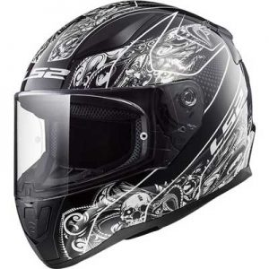 ls2-FF353-rapid-crypt-black-white-motorcycle-helmet-side-view