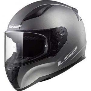 ls2-FF353-rapid-matt-titanium-motorbike-helmet-side-view