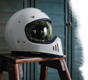 Shoei-Ex-Zero-retro-helmet-in-gloss-white-side-view