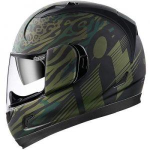 icon alliance GT operator green helmet side view