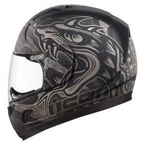 icon alliance crash helmet oro boros side view