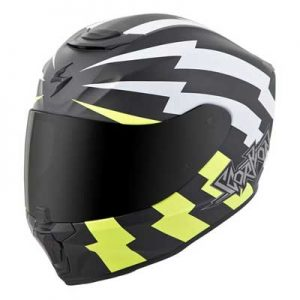 scorpion-exo-r-410-crash-helmet-tracker-black-white-hi-viz-side-view