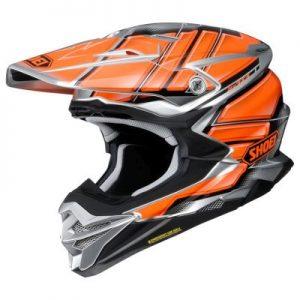 shoei vfx evo glaive motocross helmet side view