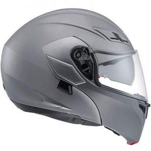 AGV Numo Evo ST Mono matt grey helmet side view