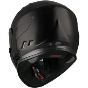simpson-ghost bandit-carbon-fibre-full-face-helmet-rear-view