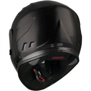 simpson-ghost bandit-carbon-fibre-full-face-helmet-rear-view