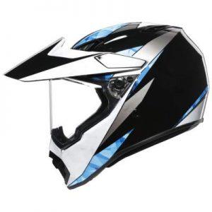 AGV AX9 antarctica motocross helmet side
