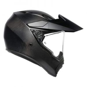 AGV AX9 full carbon motorcycle helmet side view