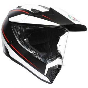 AGV-AX9-pacific-road-crash-helmet-side-view