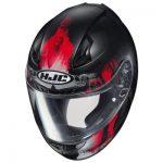 HJC CL17 Africa motorcycle helmet top view