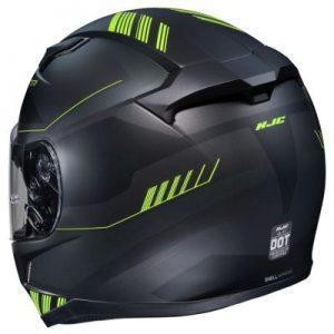 HJC CL17 combat motorcycle helmet rear view