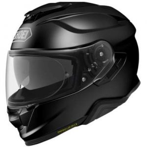 Shoei GT Air II 2 gloss black touring helmet side view