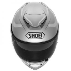 Shoei GT Air II 2 light silver helmet top down view