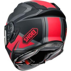 Shoei GT Air II 2 redux black crash helmet rear view