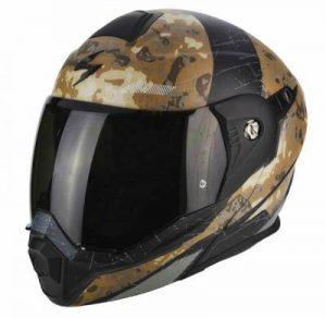 scorpion exo adx 1 battleflage modular dualsport no peak