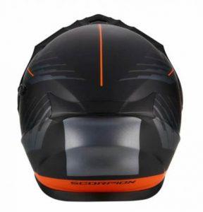 scorpion exo at950 dual modular dual sport helmet rear