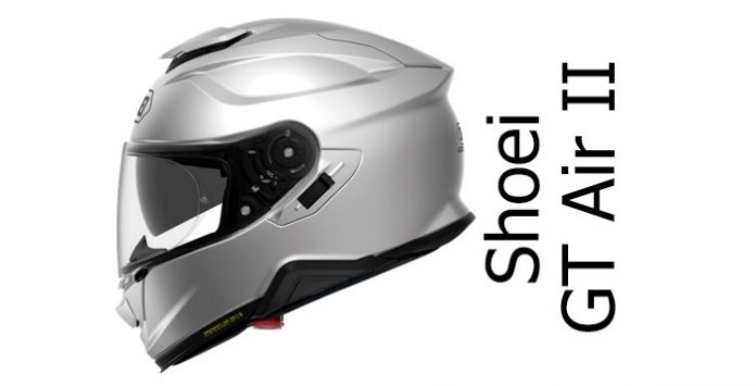 f831d125 Shoei GT Air II: long-awaited successor to one of the best rated touring  helmets.