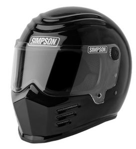 simpson-outlaw-bandit-helmet-solid-gloss-black-side-view