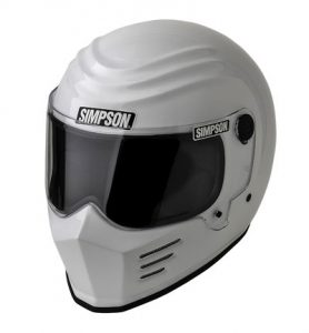 simpson-outlaw-bandit-helmet-solid-white-side-view