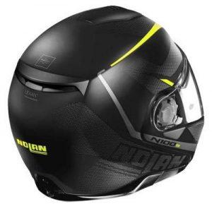Nolan N100-5 lumiere modular helmet rear view