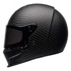 Bell eliminator helmet matt carbon side view
