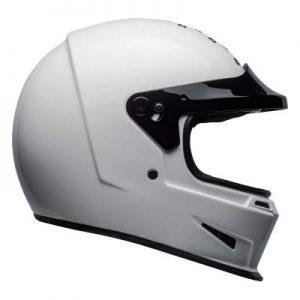 Bell eliminator motorcycle helmet gloss white