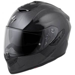 scorpion exo-st1400 gloss carbon frontview