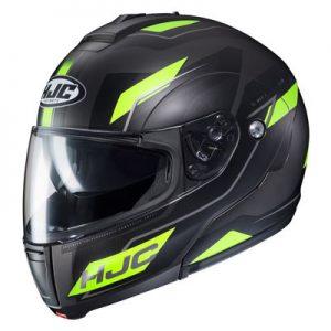 hjc-cl-max-3-flow-motorcycle-helmet-hi-viz-black-side-view