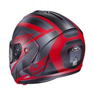 hjc-cl-max-3-gallant-black-red-modular-helmet-rear-view