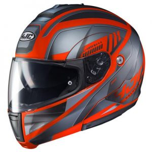 hjc-cl-max-3-gallant-helmet-grey-orange-side-view