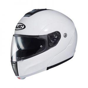 hjc-cl-max-3-modular-helmet-gloss-white-side-view