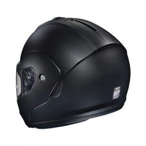 hjc-cl-max-3-modular-helmet-matt-black-rear-view