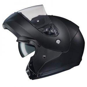 hjc-cl-max-3-modular-helmet-matt-black-side-view