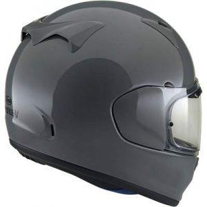 arai Regent X motorcycle helmet modern grey rear view