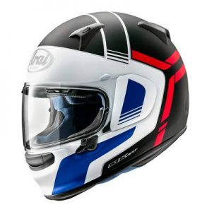 arai Regent X tube motorcycle helmet side view