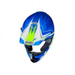hjc cs-mx 2 ellusion motocross helmet top view