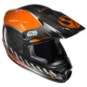 hjc cs-mx 2 rebel x wing star wars helmet side view
