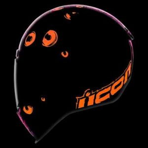icon airform illuminatus crash helmet dark side view