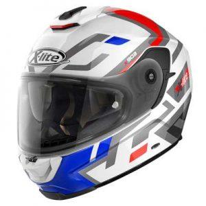 x-lite x-903 impetus red white blue helmet side